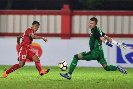 Indonesia versus Thailand 0-0 babak pertama