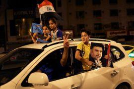 Pemrotes bakar Konsulat Iran di Basra, Irak