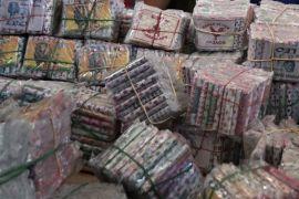 Polisi sita 1,2 ton petasan dari Jayapura