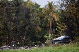 Penyintas kecelakaan pesawat Kuba dalam kondisi kritis