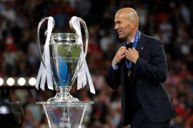 Zidane undur diri sebagai pelatih Real Madrid