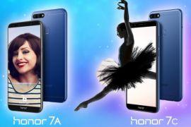 Huawei umumkan Honor 7A dan Honor 7C di India