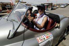 Lebanon menjadi tuan rumah rally mobil klasik wanita pertama