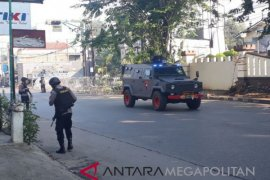 Jenazah anggota-Brimob korban penusukan tiba di Kupang