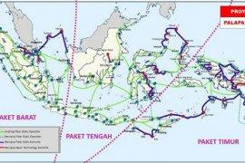 Kominfo Targetkan Pembangunan Palapa Ring 2018