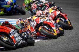 Soal kecelakaan di Jerez, Dovizioso salahkan Lorenzo dan Pedrosa