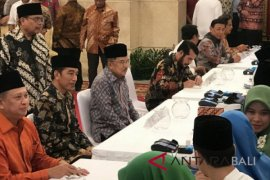Presiden Jokowi bayar zakat Rp50 juta lewat Baznas