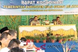 Plt Bupati HSS pimpin rapat koordinasi bulanan