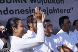 Menteri BUMN beri pembekalan 4.000 agen Mekaar PT PNM