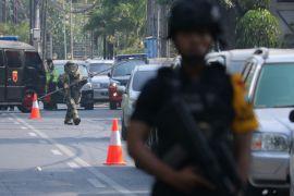 Polda Jatim: serangan bom terjadi di tiga gereja Surabaya