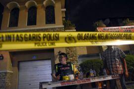 Perempuan yang ditahan adalah istri terduga teroris