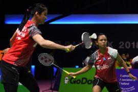 Indonesia-Thailand sementara imbang 2-2 di Piala Uber
