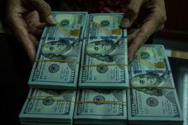 Rupiah melemah 15 poin ke Rp14.202 per dolar AS