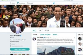 Istana amankan akun Twitter Presiden Jokowi