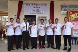 Bupati Nias resmikan unit transfusi darah