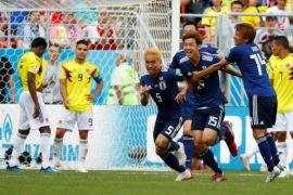 Jepang ungguli Kolombia 2-1 di penyisihan grup