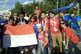 Penggemar Ronaldo asal Indonesia senang aksi cetak golnya