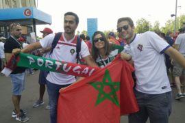 Benci tapi cinta pendukung Maroko pada Ronaldo