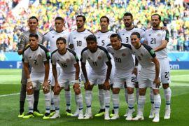 Klasemen Grup E: Kosta Rika terdepak dari Piala Dunia