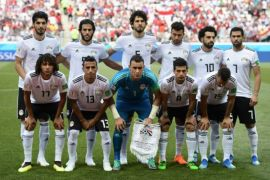 Timnas Mesir tiba di Kairo usai tersingkir dari Piala Dunia