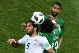 Arab Saudi menang 2-1 atas Mesir