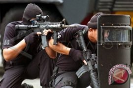 Dua teroris ditembak mati di Sumut, satu petugas terluka