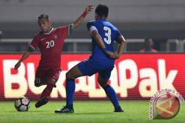 Indonesia kontra Thailand 0-0 babak pertama
