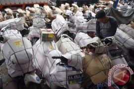 286 sepeda motor pemudik diberangkatkan ke Jakarta