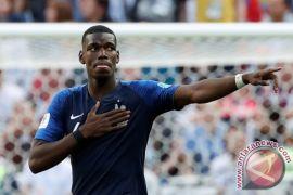 Pogba dapat dukungan MU jelang final Piala Dunia
