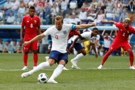 Penonton TV pertandingan Inggris di Piala Dunia kalahkan pernikahan Harry-Meghan