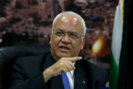 Erekat kecam pengumuman Rumania untuk pindahkan Kedubes ke Jerusalem