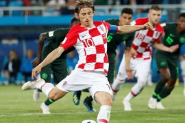 Luka Modric raih Golden Ball, Courtois kiper terbaik Piala Dunia 2018