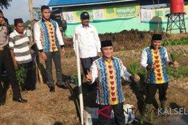 Achmad Fikry launching pertanian organik