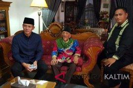 Berkunjung ke Kaltim, AHY temui Sultan Kutai