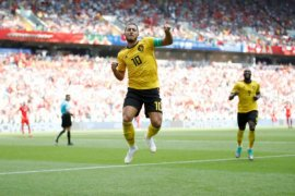 Belgia Lolos Ke 16 Besar Usai Kalahkan Tunisia 5-2