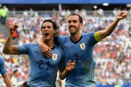 """Uruguay """"tendang"""" Portugal dari Piala Dunia Rusia"""
