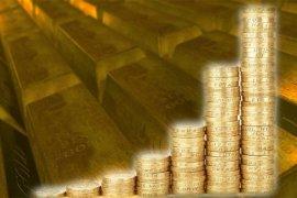 Emas berjangka sedikit lebih tinggi jelang kesaksian setangah tahunan Powell di Kongres