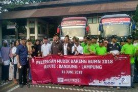 IKLB Jawa Barat Melepas 'Mudik Gratis' Ke Lampung