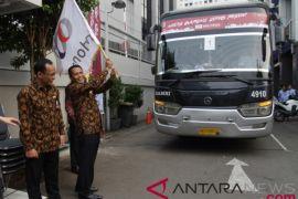 Dukung program Mudik Bareng, Indonesia Re berangkatkan 500 pemudik