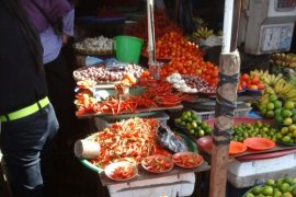 Harga cabai dan bawang merah di Ambon naik