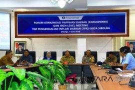 Walikota pimpin high level meeting TPID Sibolga