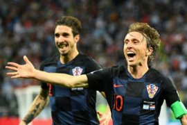 Kroasia menangi adu penalti untuk tembus perempatfinal