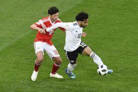Mesir tahan imbang Rusia babak pertama