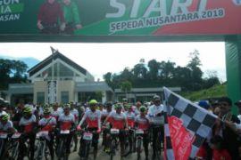 Jelajah Sepeda Nusantara dilepas perwakilan pejabat Indonesia-Malaysia