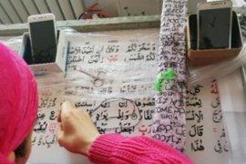 Seorang Tionghoa-Konghucu sumbang mushaf Al-Qur'an ke Presiden Jokowi