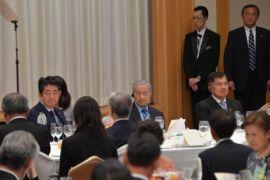 Wapres JK makan malam bersama PM Abe, PM Mahathir