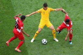 Peru kalahkan Australia namun kedua tim tersingkir