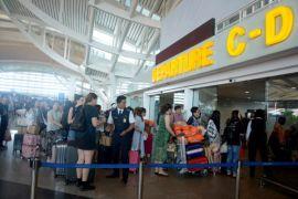 Operasional Bandara Bali aman setelah erupsi Gunung Agung