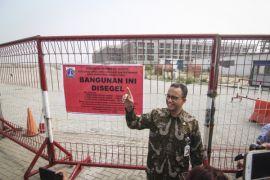 Gubernur DKI cek penyegelan bangunan di pulau reklamasi