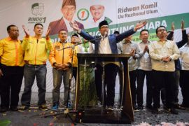 Ridwan Kamil temui Muhaimin evaluasi pilkada Jabar